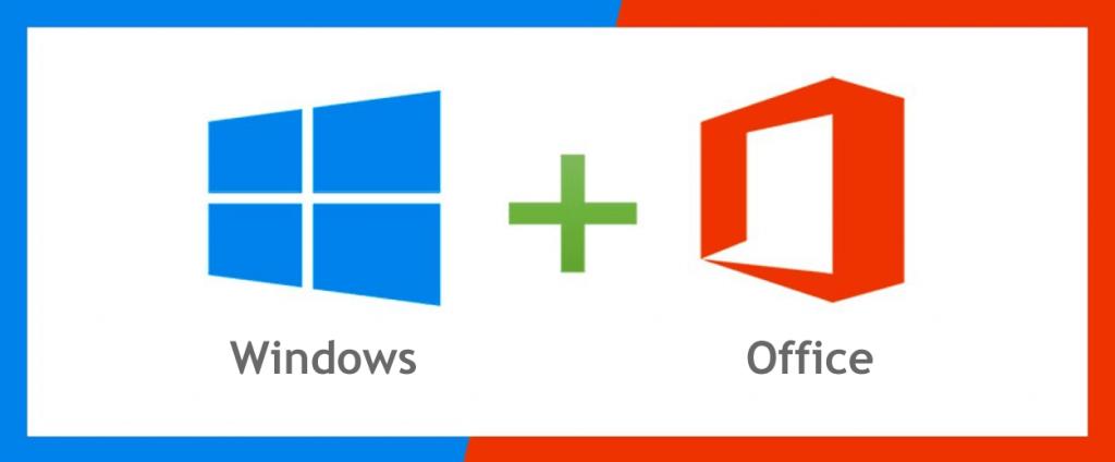 Actvar Windows + Office